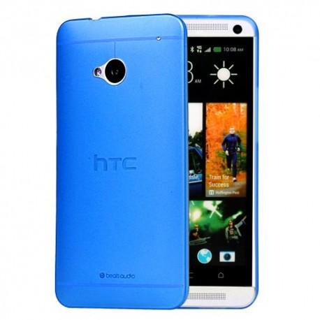 Ultratenký kryt pro HTC One M7 modrý