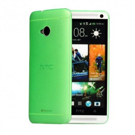 Ultratenký kryt pro HTC One M7 zelený