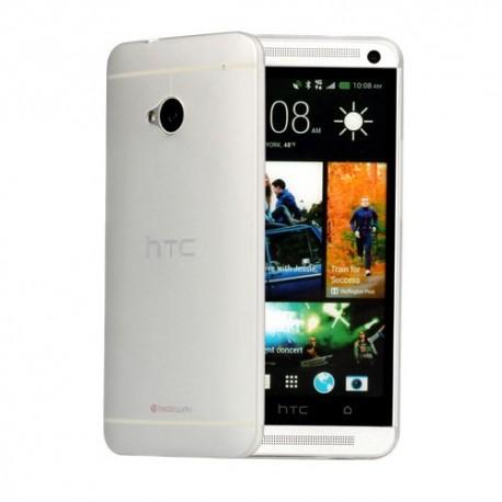 Ultratenký kryt pro HTC One M7 bílý