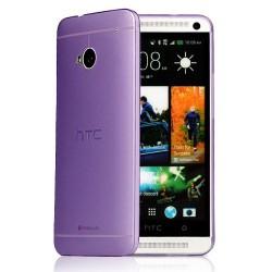 Kryt pro HTC One M7 fialový