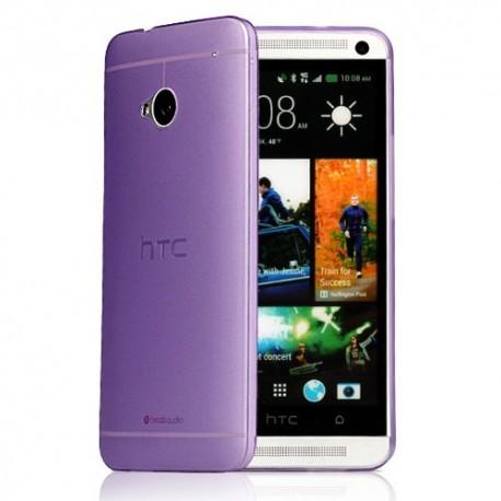 Ultratenký kryt pro HTC One M7 fialový