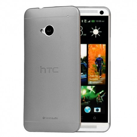 Ultratenký kryt pro HTC One M7 šedý