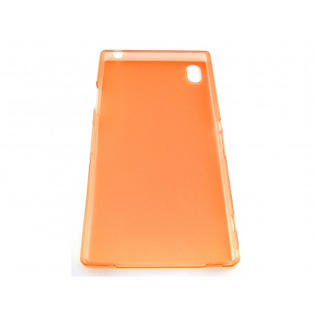 Ultratenký kryt pro Sony Xperia Z1 oranžový