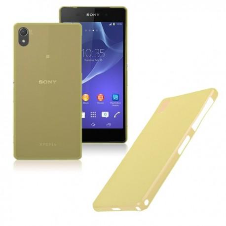Ultratenký kryt pro Sony Xperia Z2 žlutý