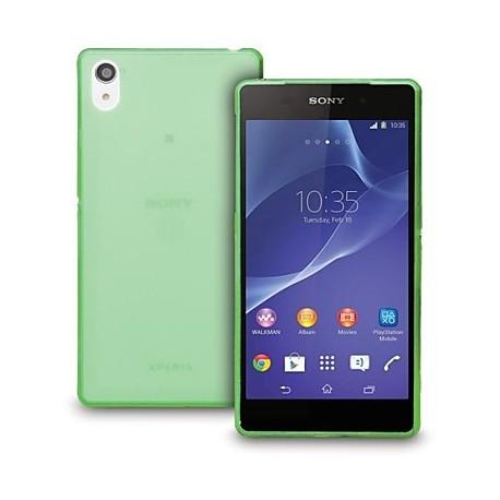 Ultratenký kryt pro Sony Xperia Z3 zelený