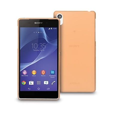 Ultratenký kryt pro Sony Xperia Z3 oranžový