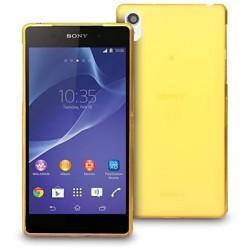 Kryt pro Sony Xperia Z3 žlutý