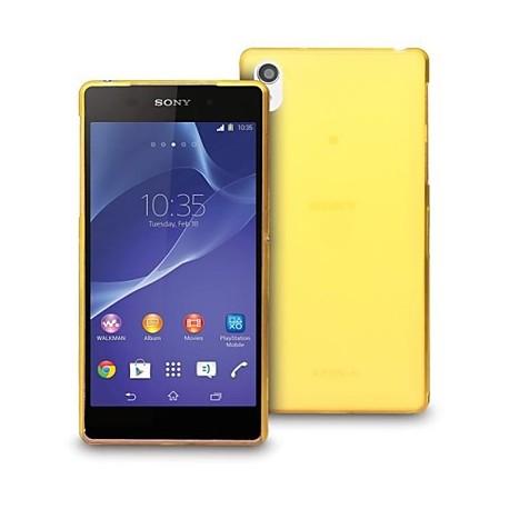 Ultratenký kryt pro Sony Xperia Z3 žlutý
