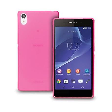 Ultratenký kryt pro Sony Xperia Z3 růžový