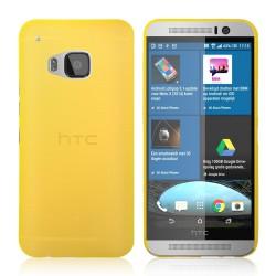 Ultratenký kryt pro HTC One M9 žlutý