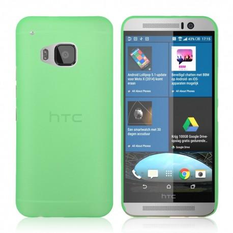 Ultratenký kryt pro HTC One M9 zelený