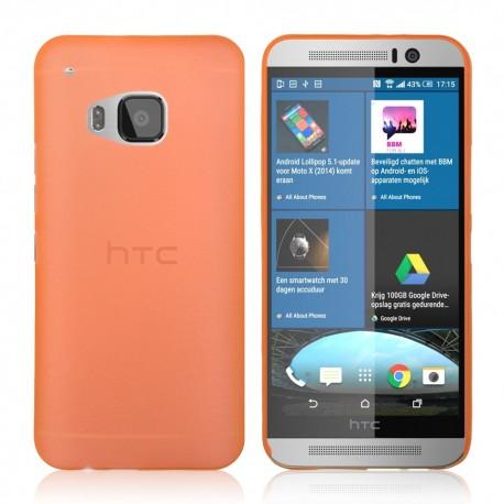Ultratenký kryt pro HTC One M9 oranžový