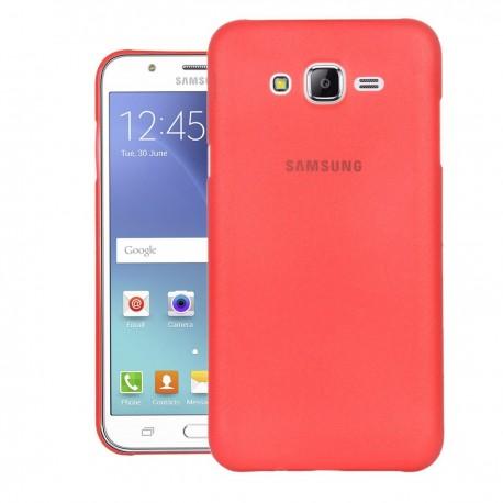 Ultratenký kryt pro Samsung Galaxy J5 červený