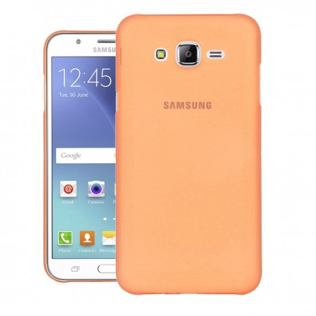 Ultratenký kryt pro Samsung Galaxy J5 oranžový