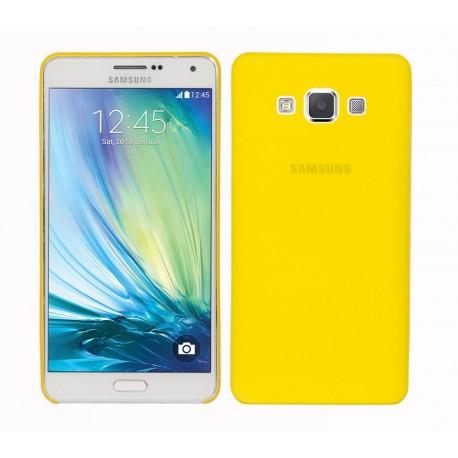 Ultratenký kryt pro Samsung Galaxy A7 žlutý