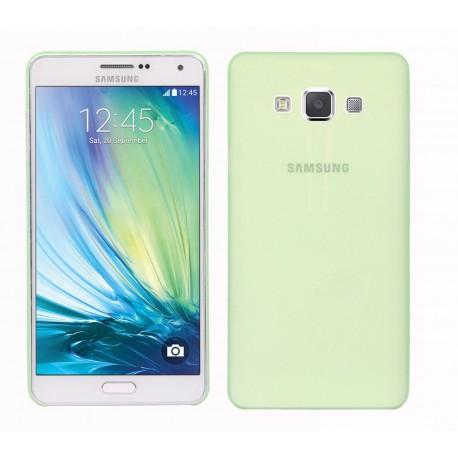 Ultratenký kryt pro Samsung Galaxy A7 zelený