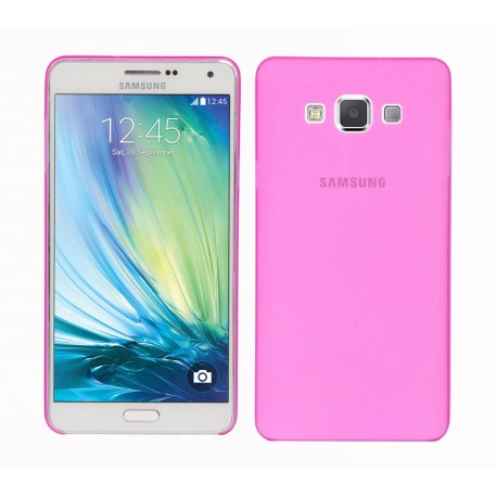 Ultratenký kryt pro Samsung Galaxy A7 růžový