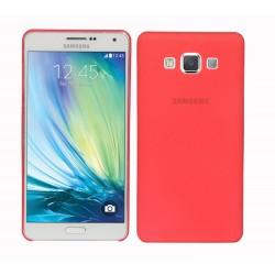 Ultratenký kryt pro Samsung Galaxy A7 červený