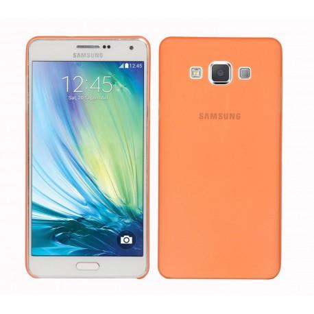 Ultratenký kryt pro Samsung Galaxy A7 oranžový