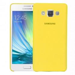 Kryt pro Samsung Galaxy A3 žlutý