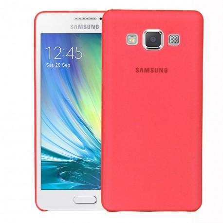 Ultratenký kryt pro Samsung Galaxy A3 červený
