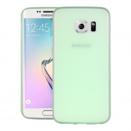 Ultratenký kryt pro Samsung Galaxy S6 Edge zelený