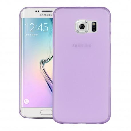 Ultratenký kryt pro Samsung Galaxy S6 Edge fialový
