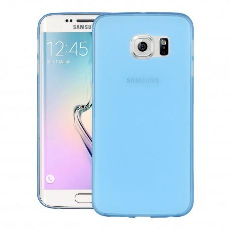 Ultratenký kryt pro Samsung Galaxy S6 Edge modrý