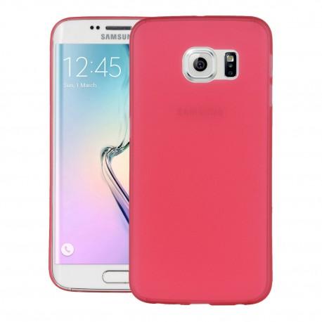 Ultratenký kryt pro Samsung Galaxy S6 Edge červený