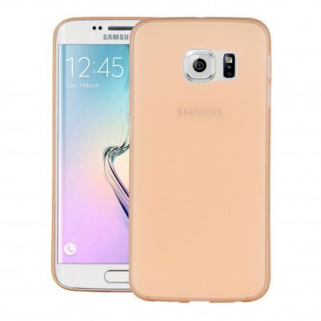 Ultratenký kryt pro Samsung Galaxy S6 Edge oranžový