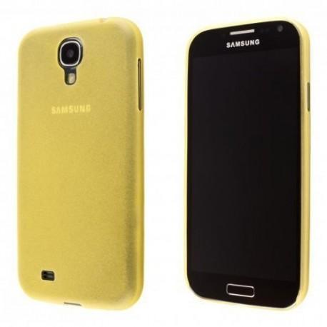 Ultratenký kryt pro Samsung Galaxy S4 mini žlutý