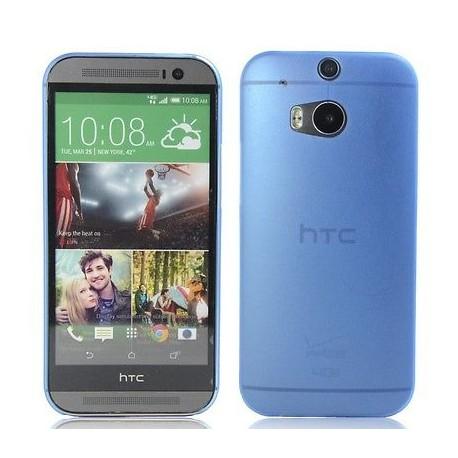 Ultratenký kryt pro HTC One M8 modrý