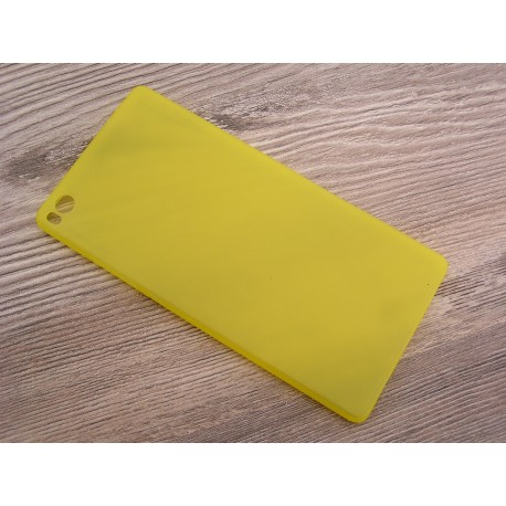 Ultratenký kryt pro Huawei P8 žlutý