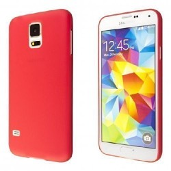 Ultratenký kryt pro Samsung Galaxy S5 červený