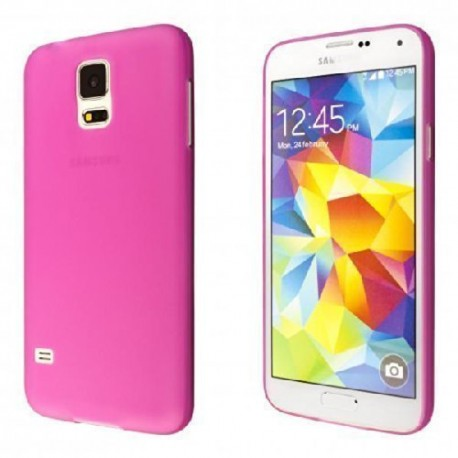 Ultratenký kryt pro Samsung Galaxy S5 růžový