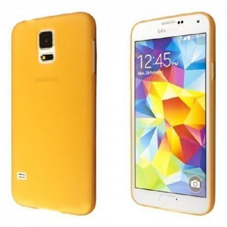 Ultratenký kryt pro Samsung Galaxy S5 oranžový