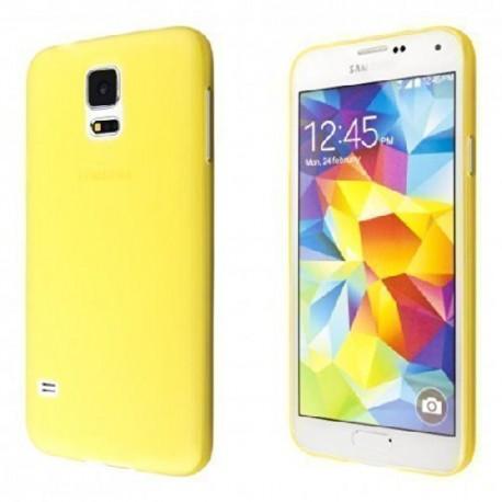 Ultratenký kryt pro Samsung Galaxy S5 žlutý