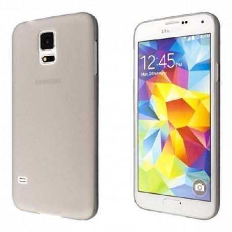 Ultratenký kryt pro Samsung Galaxy S5 mini šedý