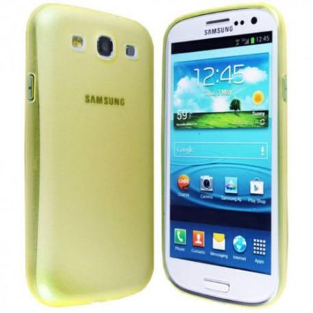 Ultratenký kryt pro Samsung Galaxy S3 žlutý