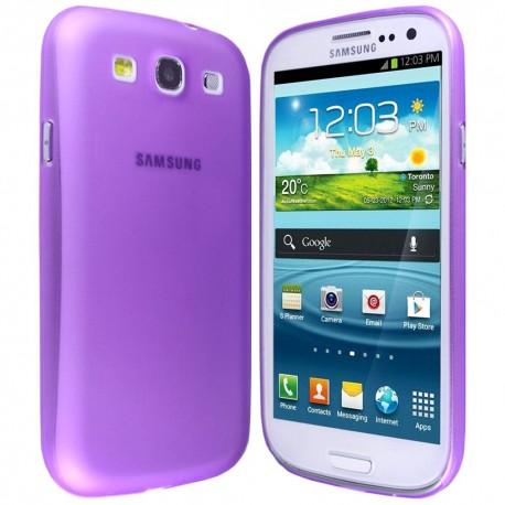 Ultratenký kryt pro Samsung Galaxy S3 fialový