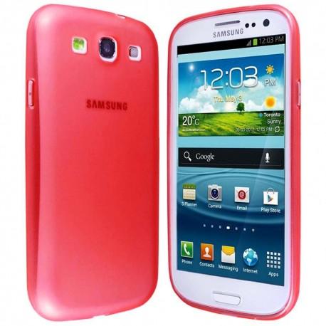 Ultratenký kryt pro Samsung Galaxy S3 červený