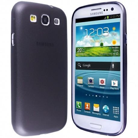 Ultratenký kryt pro Samsung Galaxy S3 černý