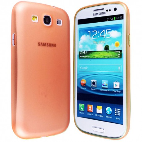 Ultratenký kryt pro Samsung Galaxy S3 oranžový