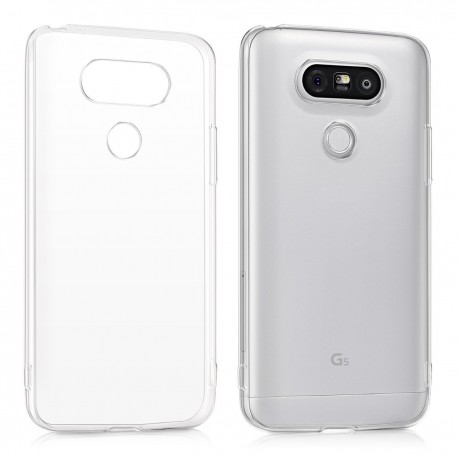 Ultratenký silikonový kryt pro LG G5 - průhledný