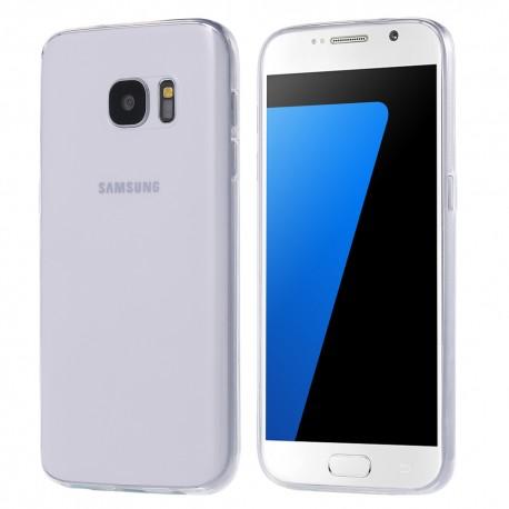 Ultratenký silikonový kryt pro Samsung Galaxy S7 Plus - průhledný