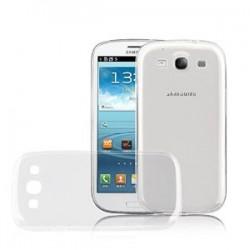 Silikonový kryt pro Samsung S3 - průhledný
