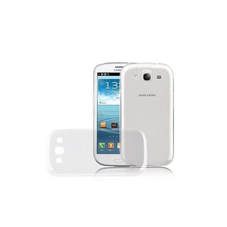 Silikonový kryt pro Samsung Galaxy S3 - průhledný