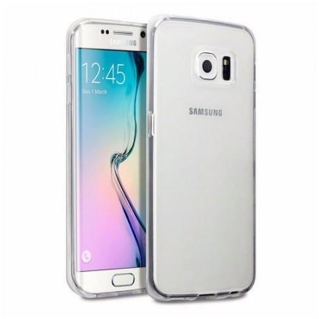 Ultratenký silikonový kryt pro Samsung Galaxy S6 Edge Plus - průhledný