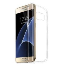 Silikonový kryt pro Samsung Galaxy S7 Edge - průhledný
