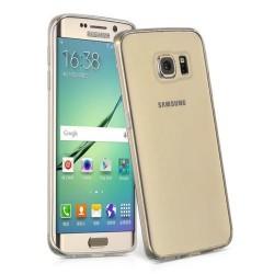 Silikonový kryt pro Samsung Galaxy S7 Edge Plus - průhledný